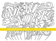 coloring sheets new york Yahoo Image Search Results Happy