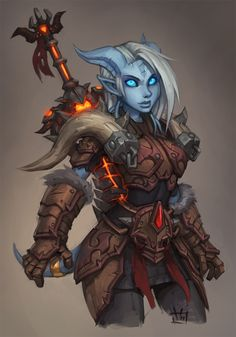 Let's share our favorite Warcraft fan-art! - Page 247 - Scrolls of Lore Forums