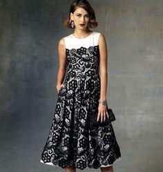Patron de robe - Vogue 1425