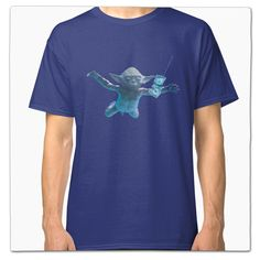 Star Wars Yoda/Nirvana Nevermind Mash Up T Shirt on Redbubble by Whythelongplayface Vinyl Cover, Album Covers, Classic T Shirts, Man Shop, Mens Fashion, Mens Tops, Shopping, Funny Movies, Film Movie