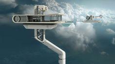 oblivion movie swimming pool - Google Search