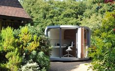 Private, tranquil and spectacular garden shed office - the Office Pod, 2.1 m x 2.1 m - cool!