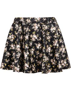 Shop Black Elastic Waist Floral PU Skirt online. Sheinside offers Black Elastic Waist Floral PU Skirt & more to fit your fashionable needs. Free Shipping Worldwide!