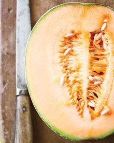 Melons need heat to turn sweet, so summer and early fall are their prime seasons. Find 20 melon recipes from Martha Stewart, highlighting honeydew, cantaloupe, and more. Melon Recipes, Cantaloupe Recipes, Fruit Recipes, Dessert Recipes, Radish Recipes, Desserts, Martha Stewart, Honeydew And Cantaloupe, Summer Squash Recipes