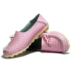 New Women Flats Soft Comfortable Lace-Up Casual Fashion Flat Loafers Shoes - US$18.83
