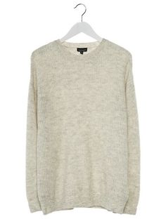 Topshop LOFTY Sweter light grey