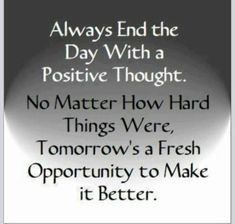 Sometimes this may be a challenge, but I promise you, if you really think hard enough, no matter how blah & bad your day is/was, you will always find something positive about it. <3