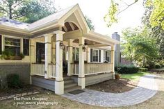 "I would like these types of columns on my front porch, rather than my (cheap, bent out of shape from the previous owner) wrought iron ""pillars."""