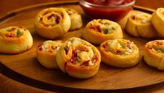 Ranch dressing perks up a crowd-pleasing, cheesy crescent appetizer.