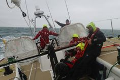 Race 9.1 Day 1: Challenging conditions as teams head towards Taiwan Strait, the Invest Africa team have restarted the race to China after carrying out repairs in Hong Kong.