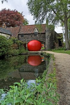 Red Ball Project in Norwich, UK. photo by mike collar