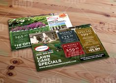 Lawn Care Door Hanger Template By The Lawn Market Advertise With