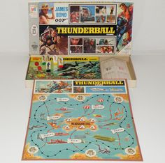 Today is Int'l James Bond Thunderball board game featuring Sean Connery by Milton Bradley Auld Lang Syne, Sean Connery, Magazine Ads, Retro Toys, Popular Culture, James Bond, Board Games, Milton Bradley, Day