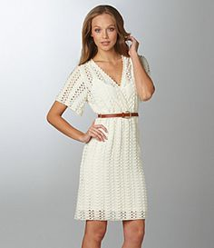 Sanctuary Clothing Spring Tea Dress; love it, the lace is cute and the sleeves are adorable!