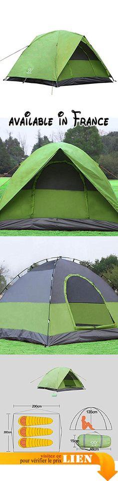 B071LDFL8R  GOUQIN Tente 3-4 Personne Une Chambre D\u0027Pluie Pique - utilisation eau de pluie maison