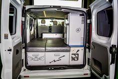 equipamiento y transformacion de furgoneta a vehiculo camper vivenda para modelos nissan primastar, opel vivaro y renault trafic