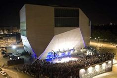 Casa da Musica, Oporto - Portugal project by Rem Koolhaas