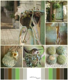 Spring and Sage Moodboard