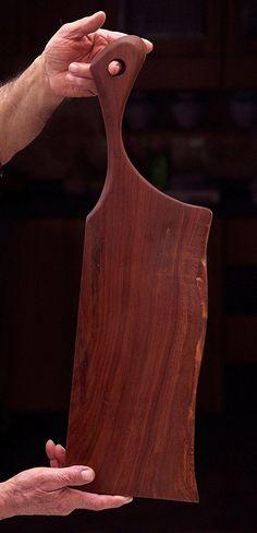 2416. Handmade Italian almond wood cutting board