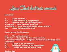 """Check out new work on my @Behance portfolio: """"Linux cheat sheet"""" http://be.net/gallery/34171857/Linux-cheat-sheet"""