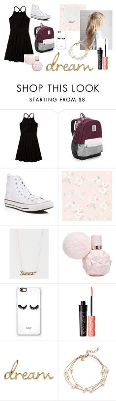 """""""CuTiE"""" by babygirl-kenzie on Polyvore featuring Hollister Co., Victoria's Secret, Converse, Captiva, Full Tilt, Rianna Phillips and Benefit"""