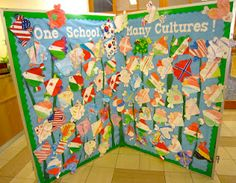 Pre school decor fascinating international day school decoration pic of classroom ideas for primary trends and styles classroom decoration preschool lobby Multicultural Classroom, Multicultural Activities, Classroom Themes, School Classroom, Classroom Activities, World Bulletin Board, Bulletin Boards, Diversity Activities, Harmony Day