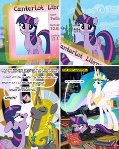 Becoming an Alicorn does have its problems..