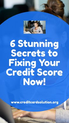 6 Stunning Secrets to Fixing Your Credit Score Now! Are you wondering how to fix your credit score now! You may be overwhelmed with all the confusing information out there about repairing your credit and where to start. The good news is that it doesn't need to be this way! In this article I'll promptly go through some of the most vital ingredients that you really ought to pay attention to. #creditscoretips #improvecreditscore #creditscorechart #howtoraiseyourcreditscore #increasecreditscore
