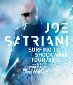Veterans Memorial Auditorium :: Joe Satriani: Surfing to Shockwave Tour