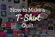 If you have a pile of clothing and T-shirts that have special meaning but don't really know what to do with them, a T-shirt quilt may be the perfect solution. Not only will you get to revisit some old favorites as you work, but the finished quilt will have both sentimental and practical value. Tips...  Read more »