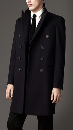 Burberry Double Cashmere Coat