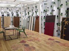 Wonderful Designed wood floors in Tel Aviv. XILO1934 parquets in the wonderful new showroom:  WOOD & FINESTONE ISRAEL INC