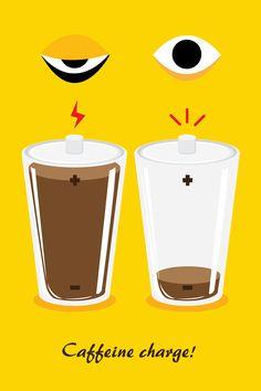 coffee illust project series!