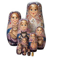 Beautiful nesting dolls