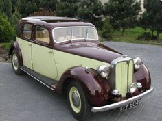 1948 Rover P3 Retro Cars, Vintage Cars, Antique Cars, Classic Trucks, Classic Cars, Car Rover, Commercial Vehicle, Buick, Old Cars