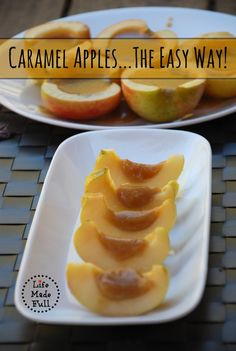 You'll never want to eat caramel apples any other way again!