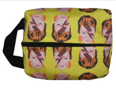 DAVID BOWIE small dopp kit/ toiletry bag/ by kayciwheatley on Etsy, $44.00