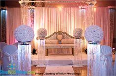 Make a Wedding Mandap, Sparkling Crystal Gazebo, Wedding Gazebos