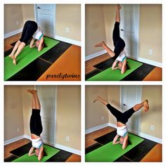 how we learned to do headstands