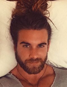 I'm going to lay here and pretend I'm not absolutely exhausted! I want whoever is reading this to know I am thankful for you and that YOU MATTER! Just remember that! Brock Ohurn, Hair And Beard Styles, Long Hair Styles, Gorgeous Men, Beautiful People, Pretty Men, Beautiful Celebrities, Long Hair Beard, Have A Great Night