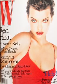 W Magazine's Supermodel Cover Girls - Linda Evangelista on the cover of W Magazine May 1998