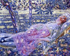 The Athenaeum - Summer Day in a Chaise Lounge (Louis Ritman - No dates listed)