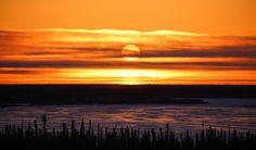 Mackenzie River Sunset Kristian Binder, Inuvik, NWT