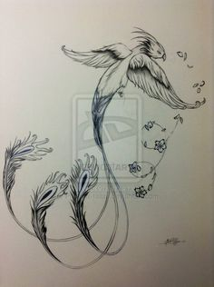 I'm getting it over my right ribs and side with some slight modifications by Phoenix-tails9.deviantart.com on @deviantART