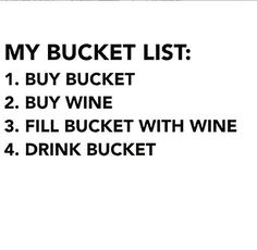 Wine bucket list. Love this!