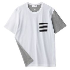 Dots & Stripes #8 / Short-Sleeve Pocket T-Shirt