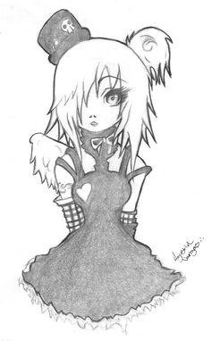 Anime Drawings | EMO GIRL by ~MrCartoon on deviantART