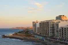 malta by night #malta #travel #sliema