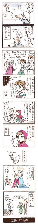 アナと雪の女王、エルサが不憫すぎる マンガ