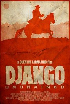 The D is Silent - Django Unchained Poster by disgorgeapocalypse.deviantart.com on @deviantART